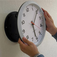 Profil Analogue Clock Wall Mounted - Clocks and Clock Systems
