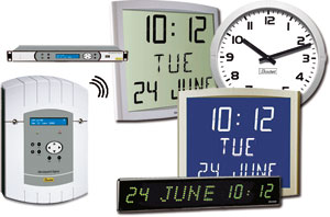 Wireless Clock System - Clocks and Clock Systems