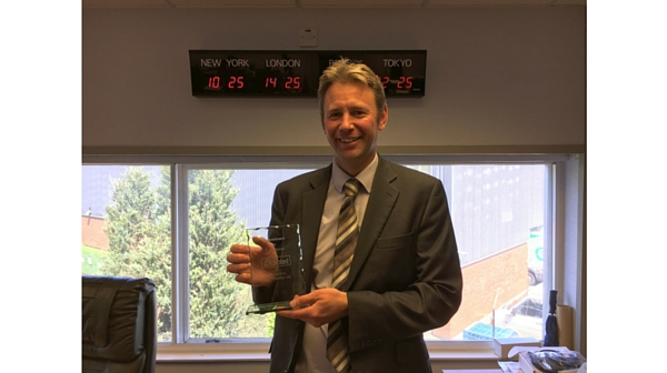 Bodet's Commitment to Excellence Award