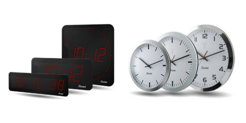 Bodet Analogue & Digital Clocks