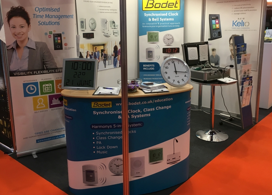 Bodet's Exhibition Stand Facilities Show