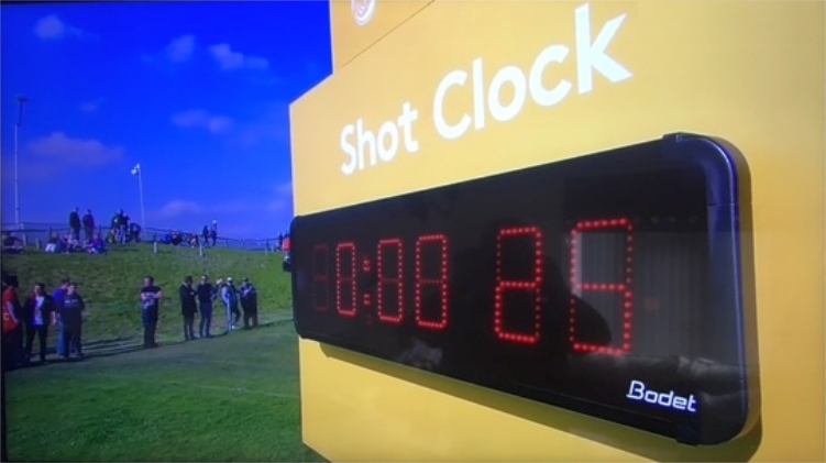 Bodet Digital Clock at GolfSixes