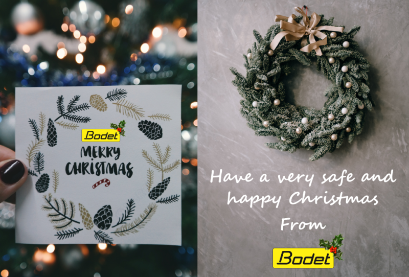 Happy Christmas from Bodet
