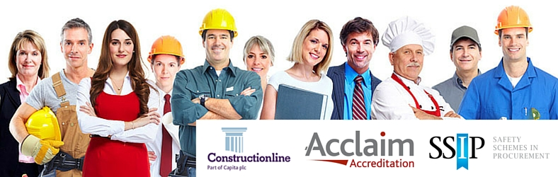 Constructionline & Acclaim Accreditation for H&S